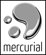Mercurial logo -right
